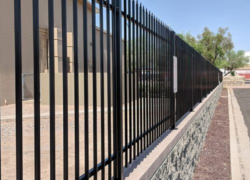 Fence Walls | Commercial Services | Arizona Painting Company