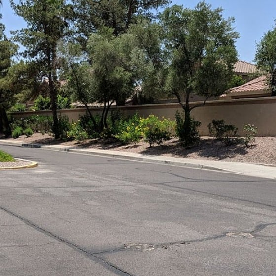 Fence Walls   Commercial Services   Arizona Painting Company