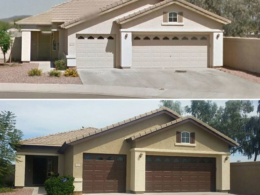 Before Amp After Painting Jobs Galleries Arizona