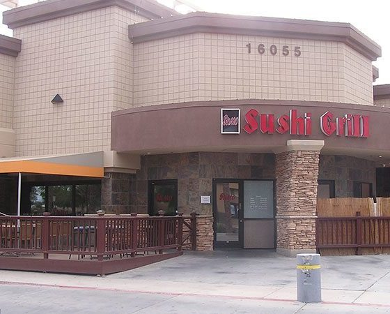 Scottsdale Strip Mall Painting Project   Scottsdale Arizona   Commercial Exterior Painting   Arizona Painting Company