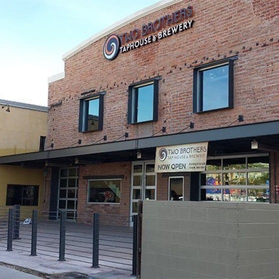 Two Brothers Brewing Company | Scottsdale Arizona | Commercial Exterior Painting | Arizona Painting Company