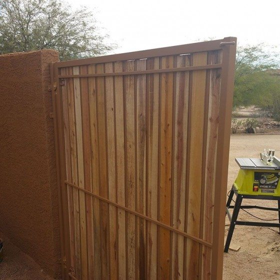 Fence & Gate Painting | Residential Exterior Painting | Arizona Painting Company Gallery