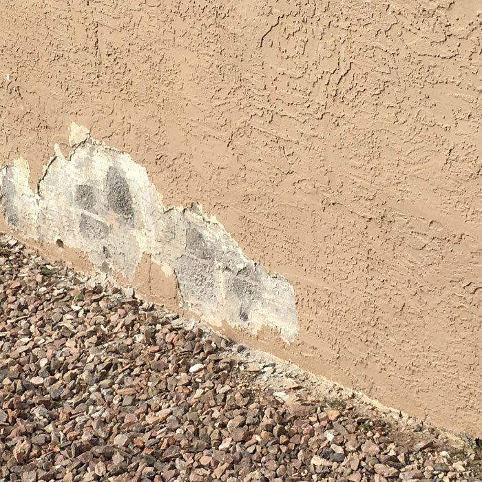 4 peeling paint stucco