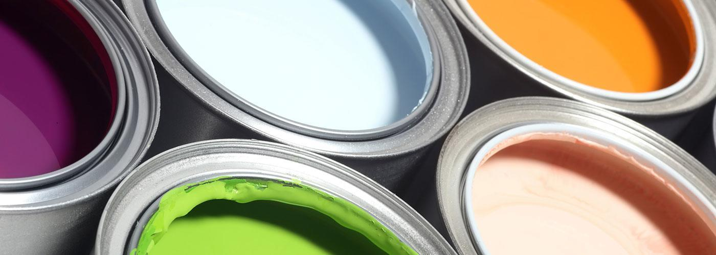 Different Colors of Paint in Paint Cans | Residential & Commercial Painting Services | Arizona Painting Company