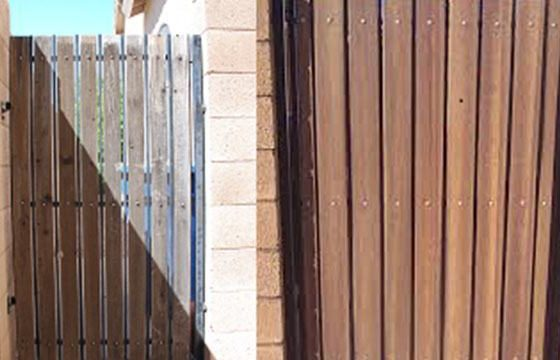 Residential Fence & Gate Painting Services in Phoenix & Tucson | Arizona Painting Company