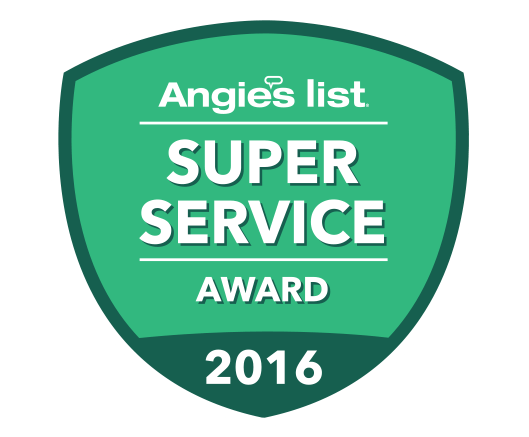 2016 Angie's List Super Service Award | Arizona Painting Company