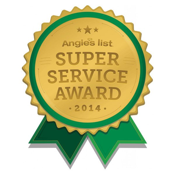 2014 Angie's List Super Service Award | Arizona Painting Company