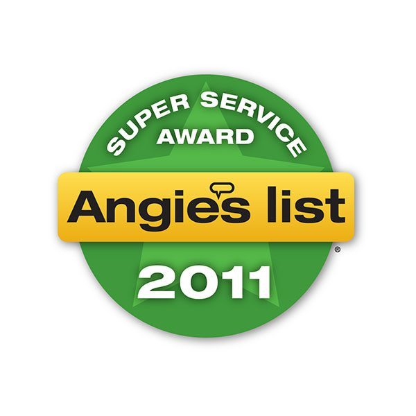 2011 Angie's List Super Service Award | Arizona Painting Company