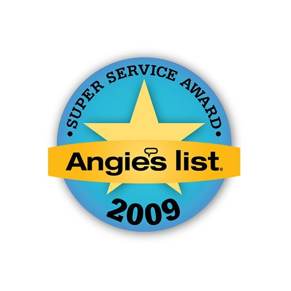 2009 Angie's List Super Service Award | Arizona Painting Company