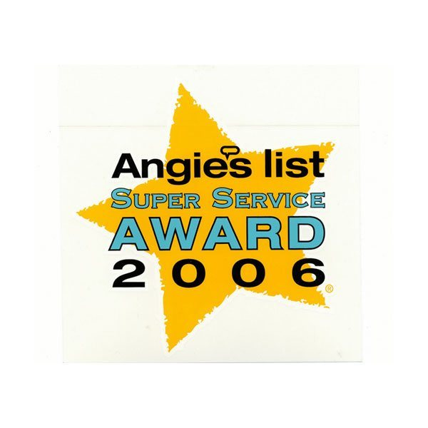 2006 Angie's List Super Service Award | Arizona Painting Company