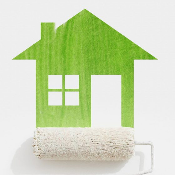 eco-friendly home painting