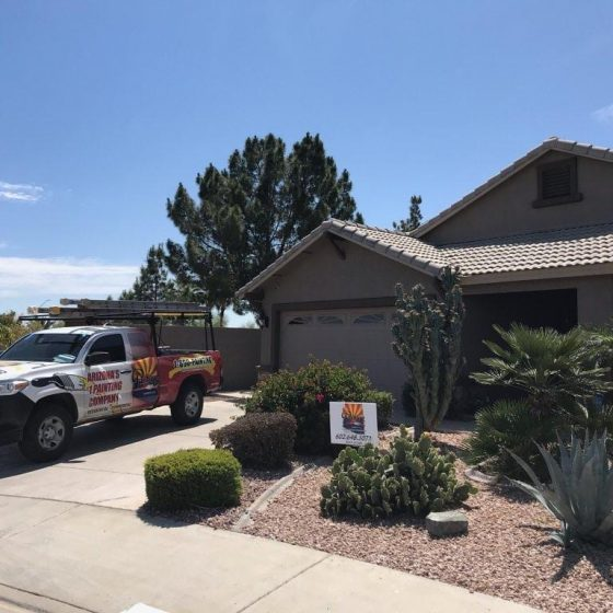 Exterior painting in Scottsdale AZ