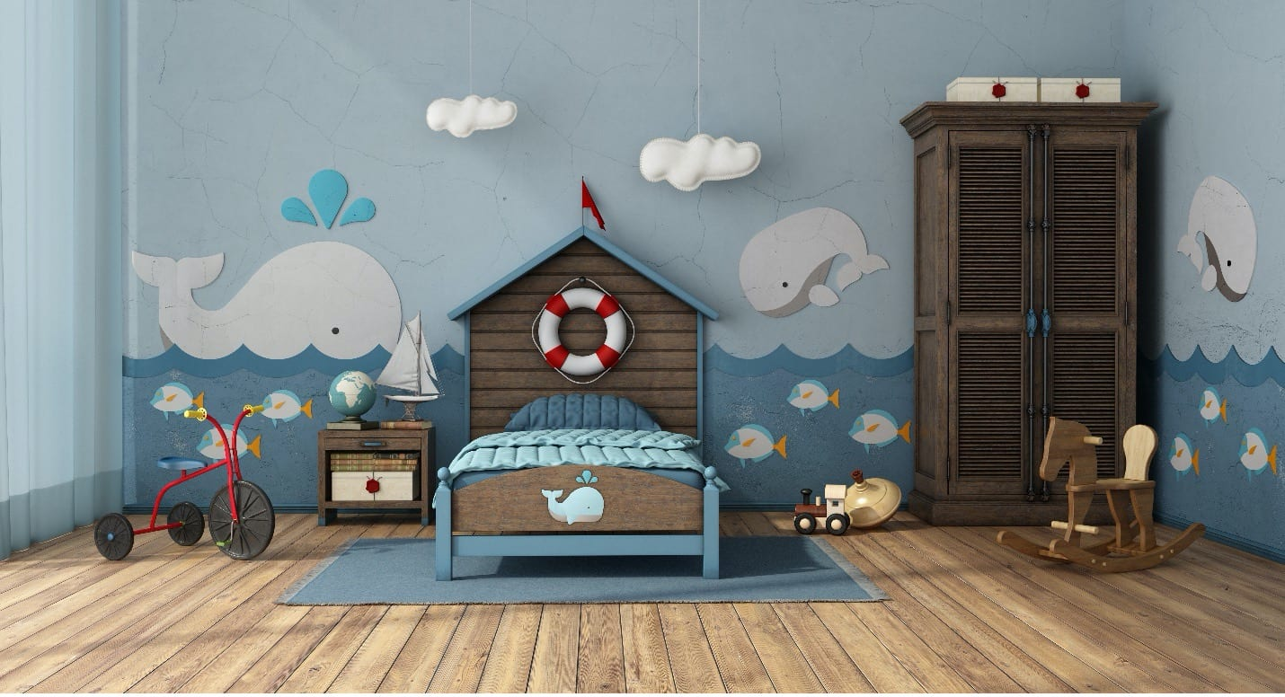Nautical Theme for Redecorating Children's Bedrooms